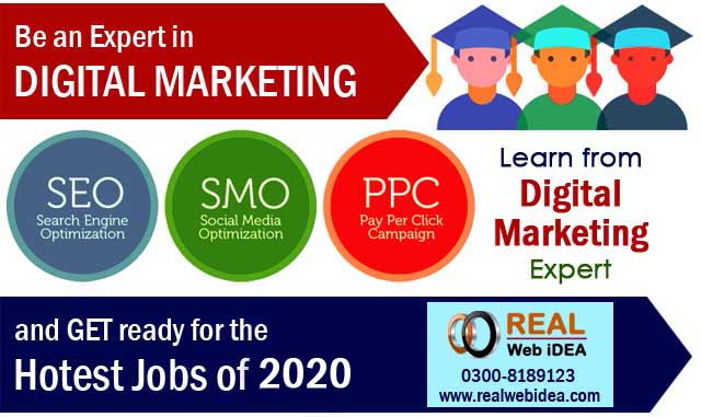 Digital Marketing Training Course and Services Company in Lahore Pakistan.