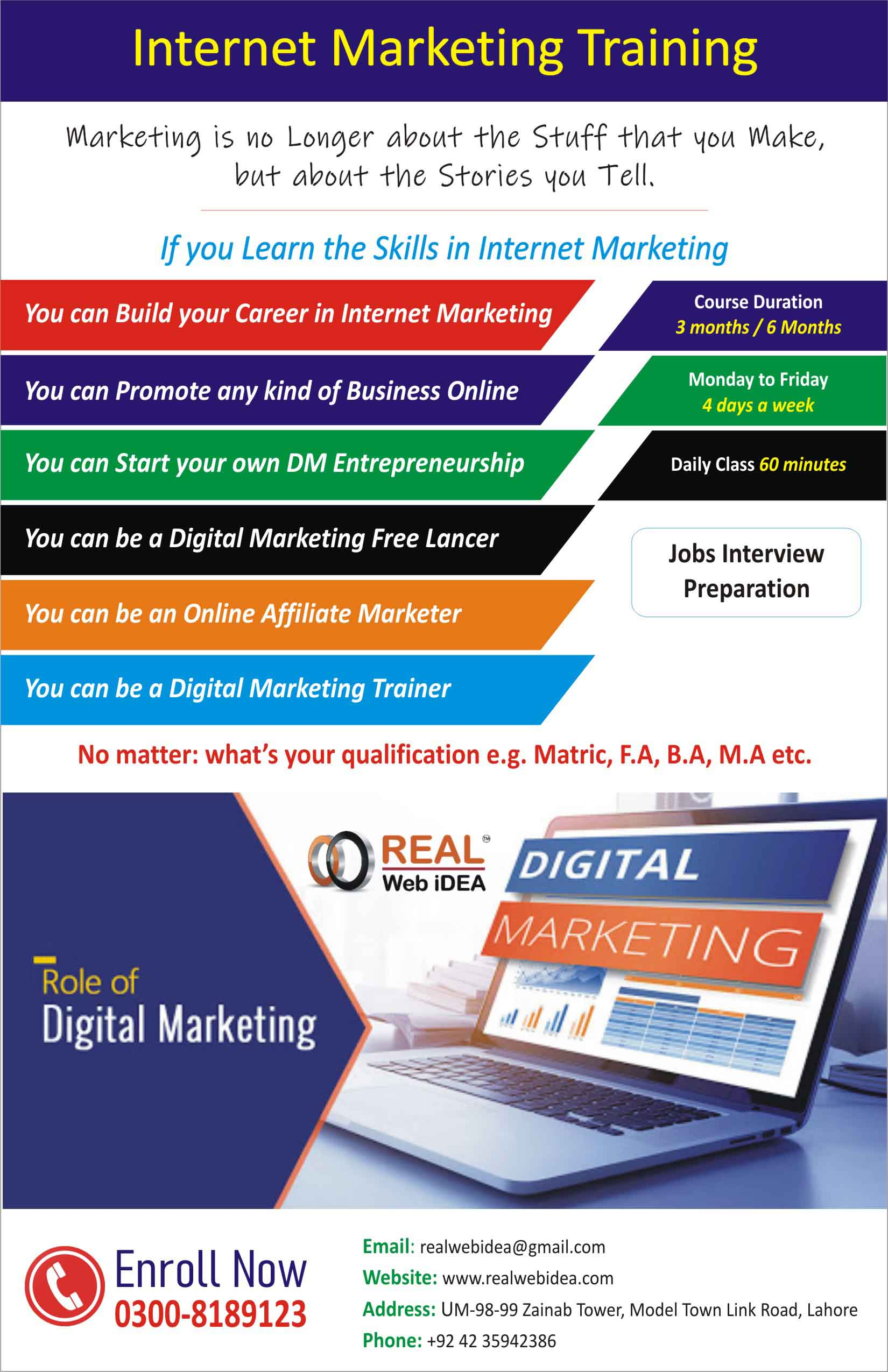 seo PPC SMM training institute in Model Town lahore pakistan